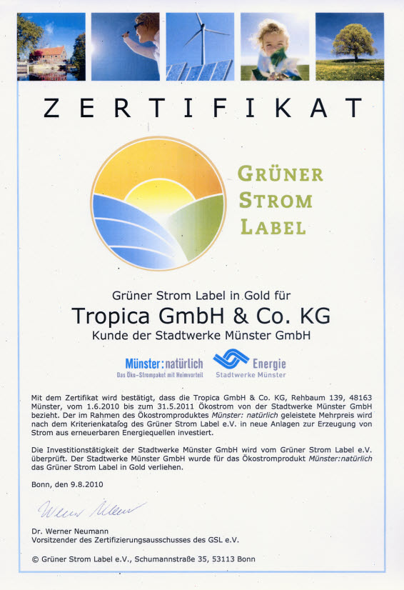 Gruener-Strom-Label